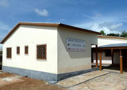 Il nuovo Centro Maternità appena inaugurato